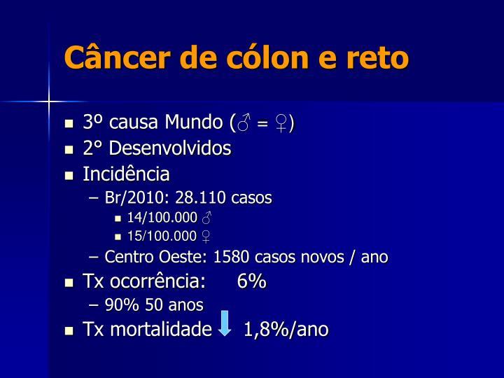 Câncer de cólon e reto
