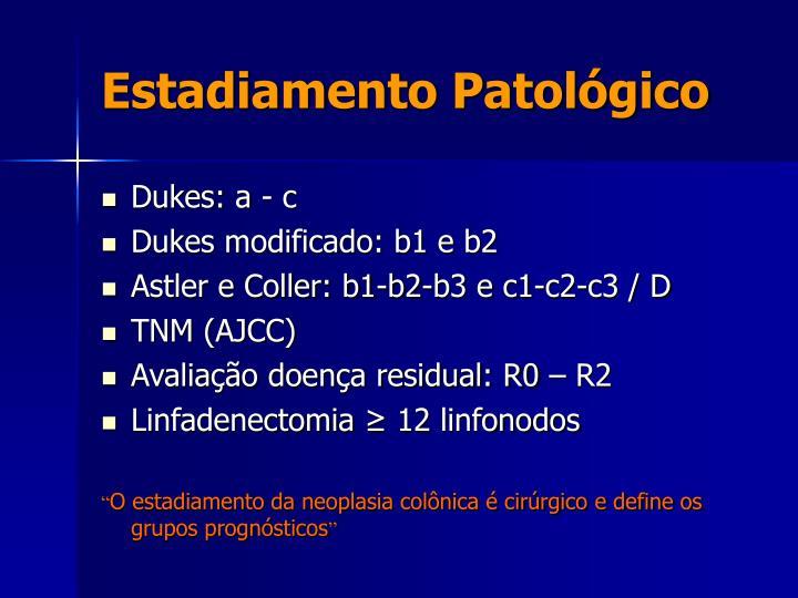 Estadiamento Patológico