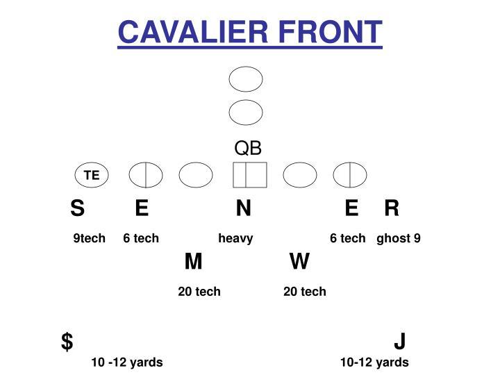 CAVALIER FRONT