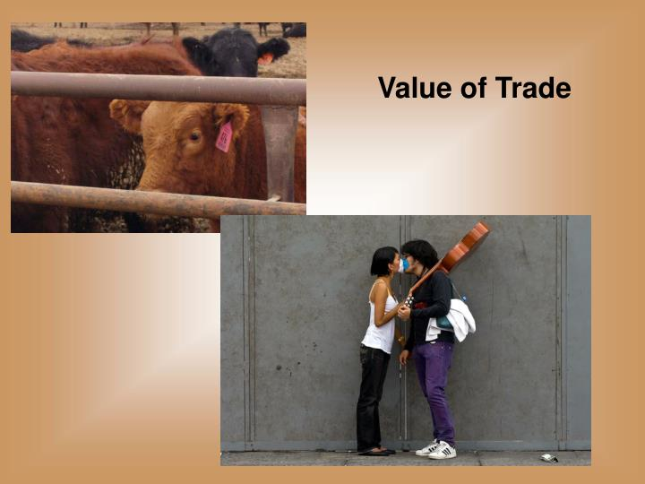 Value of Trade