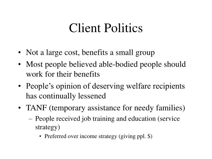Client Politics