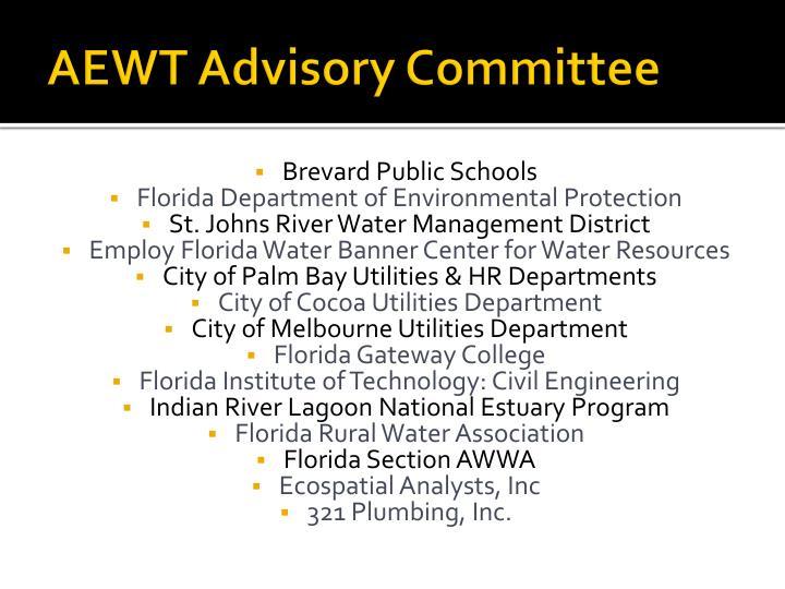 AEWT Advisory Committee