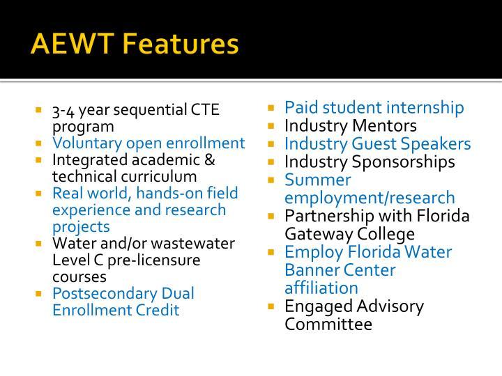 AEWT Features