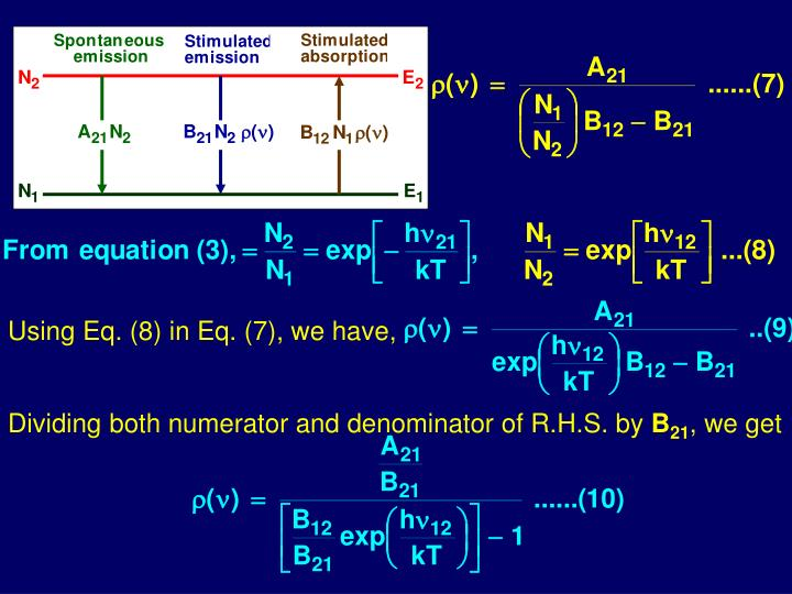 Using Eq. (8) in Eq. (7), we have,
