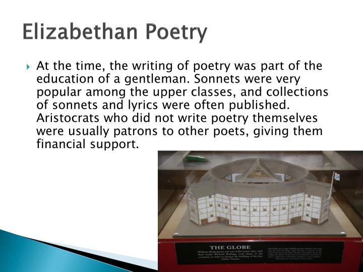 Elizabethan Poetry Essay - Words | Bartleby