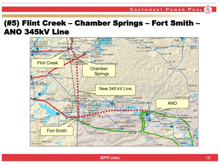 (#5) Flint Creek – Chamber Springs – Fort Smith –