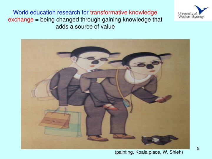World education research for