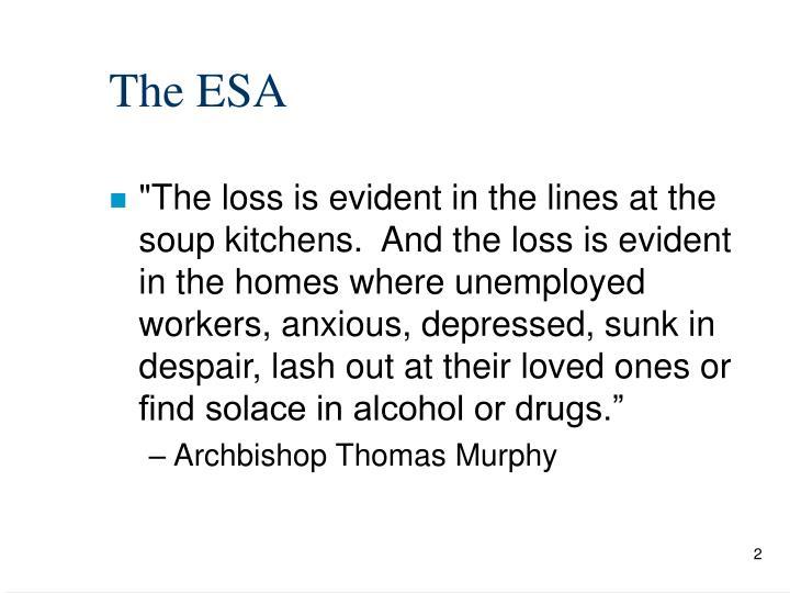 The ESA