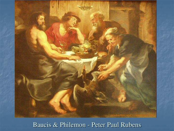 Baucis & Philemon - Peter Paul Rubens
