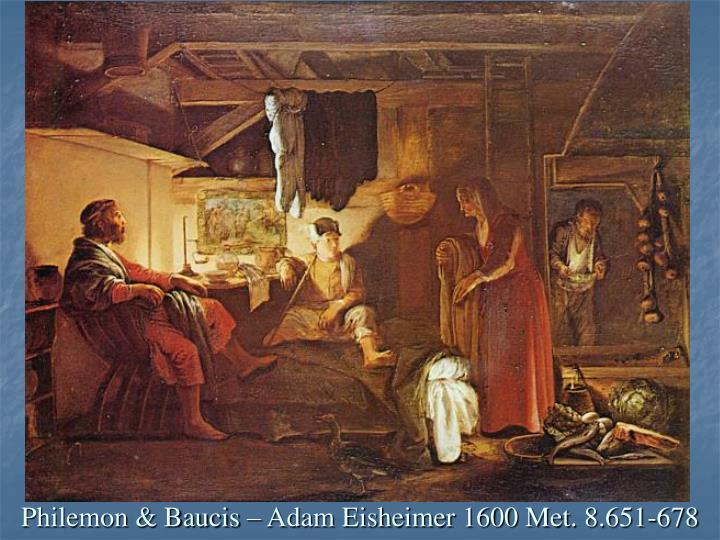 Philemon & Baucis – Adam Eisheimer 1600 Met. 8.651-678