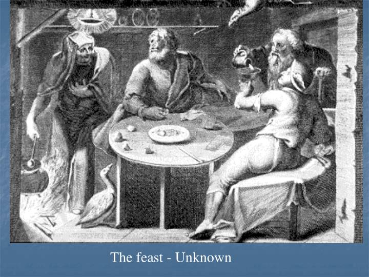 The feast - Unknown