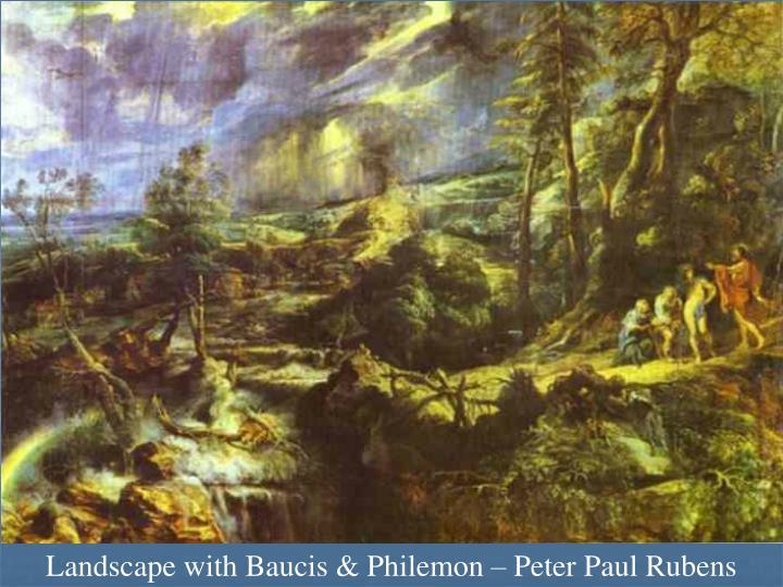Landscape with Baucis & Philemon – Peter Paul Rubens