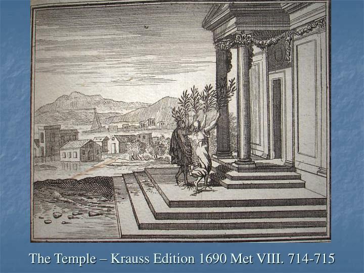 The Temple – Krauss Edition 1690 Met VIII. 714-715