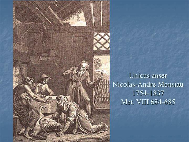 Unicus anser