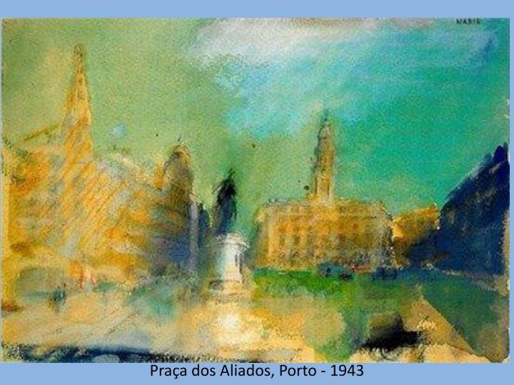 Praça dos Aliados, Porto - 1943