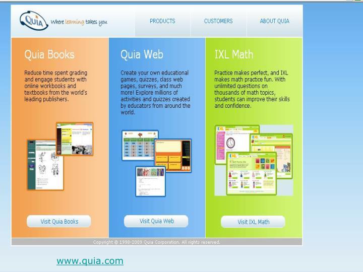 www.quia.com