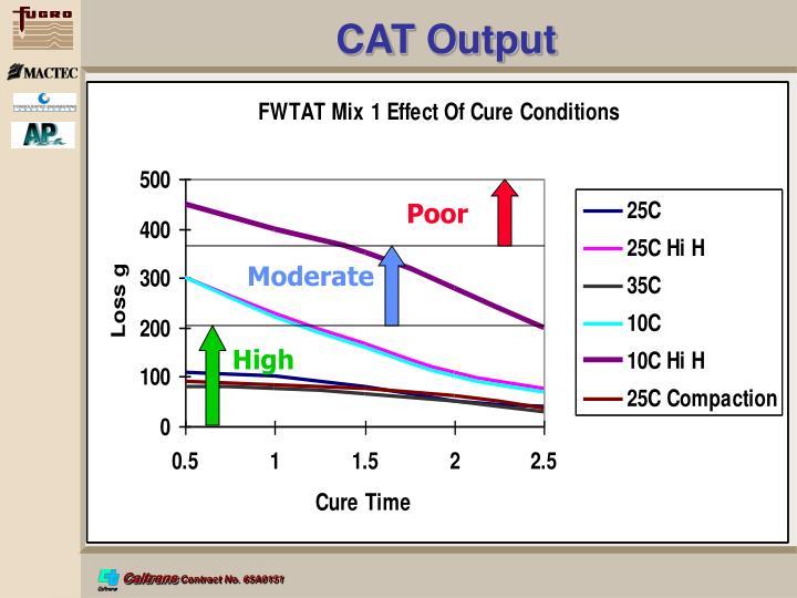 CAT Output