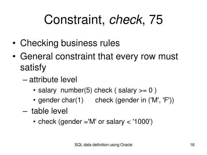 Constraint,