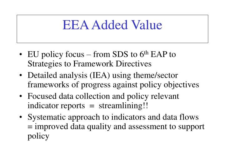 EEA Added Value