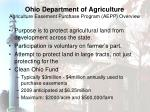 ohio department of agriculture agriculture easement purchase program aepp overview