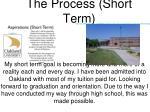 the process short term