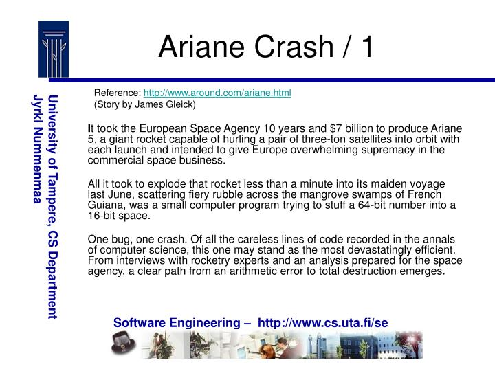 Ariane Crash / 1