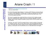 ariane crash 1