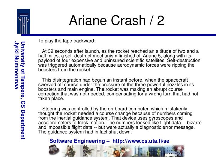 Ariane Crash / 2