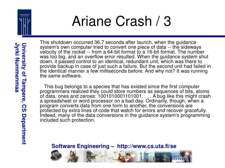 Ariane Crash / 3