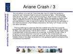 ariane crash 3