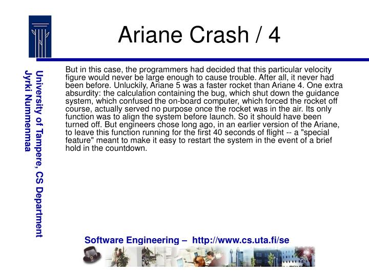 Ariane Crash / 4
