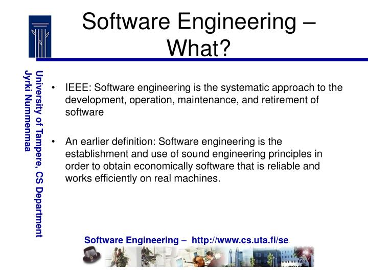 Software Engineering – What?