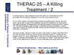 therac 25 a killing treatment 2