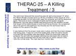 therac 25 a killing treatment 3