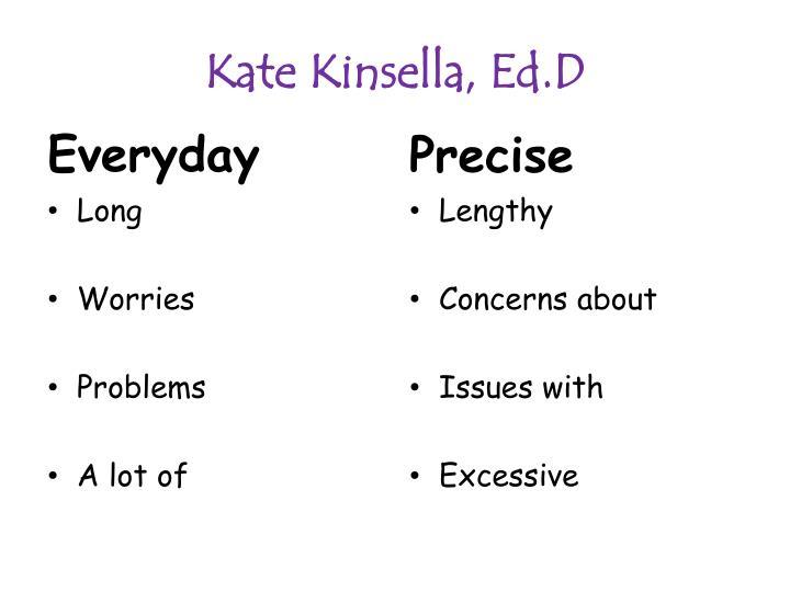 Kate Kinsella,