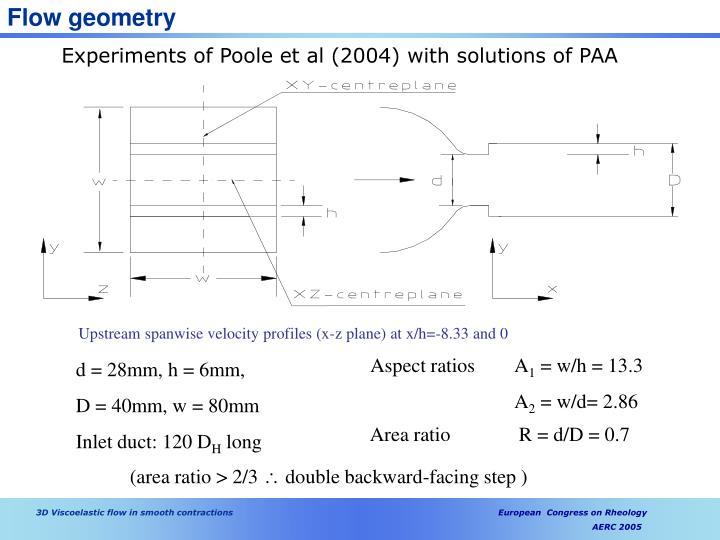 Flow geometry