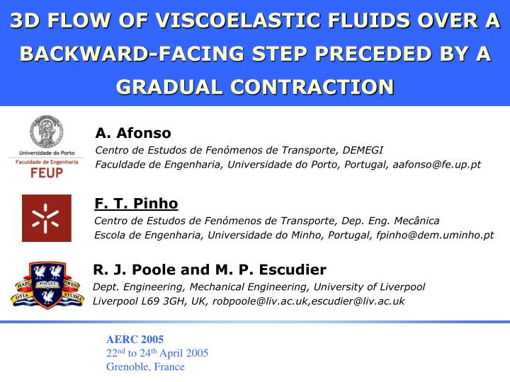 3D FLOW OF VISCOELASTIC FLUIDS OVER A BACKWARD-FACING STEP PRECEDED BY A GRADUAL CONTRACTION
