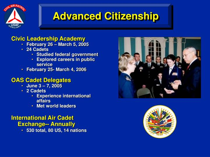 Advanced Citizenship