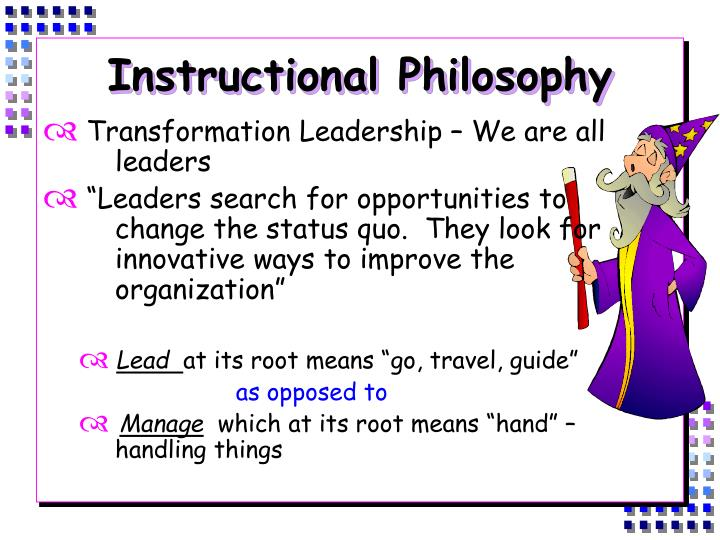 Instructional Philosophy