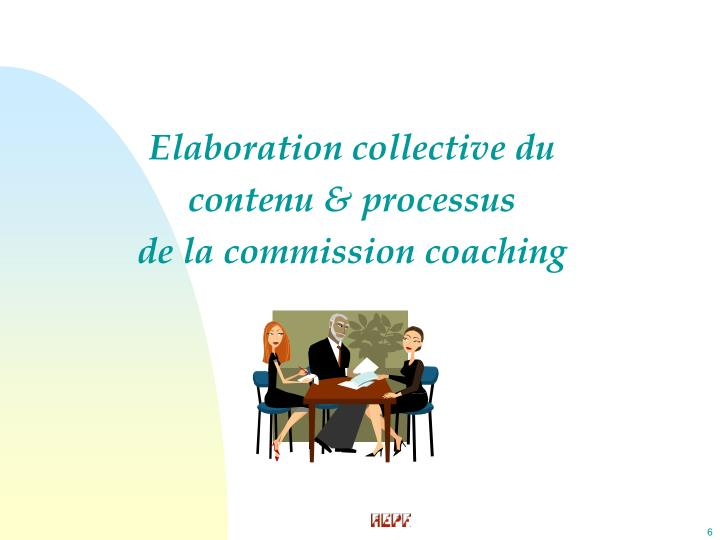 Elaboration collective du