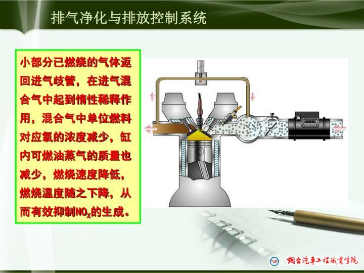 排气净化与排放控制系统