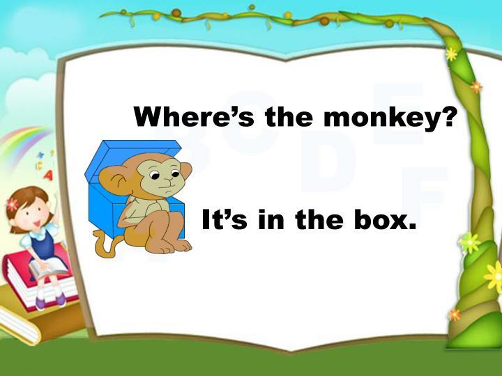 It's in the box.
