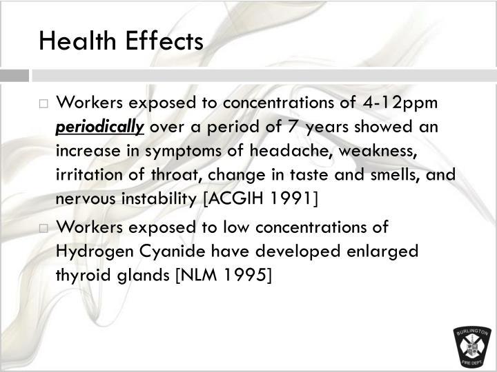Hydrogen Cyanide Effects Related Keywords - Hydrogen ...