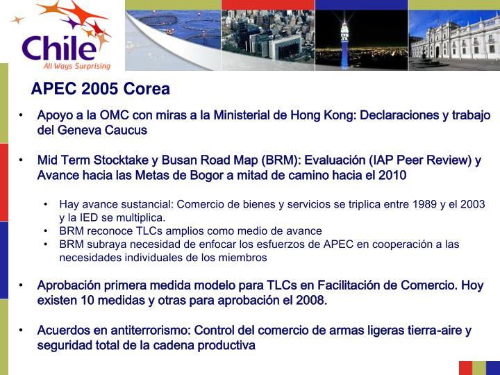 APEC 2005 Corea