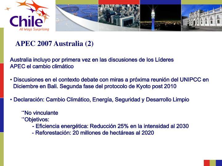 APEC 2007 Australia (2)