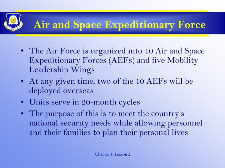 Air and Space Expeditionary Force