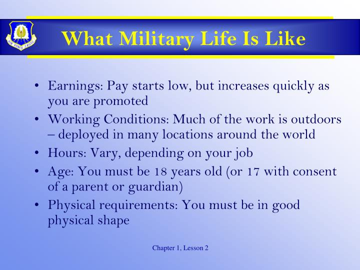 What Military Life Is Like