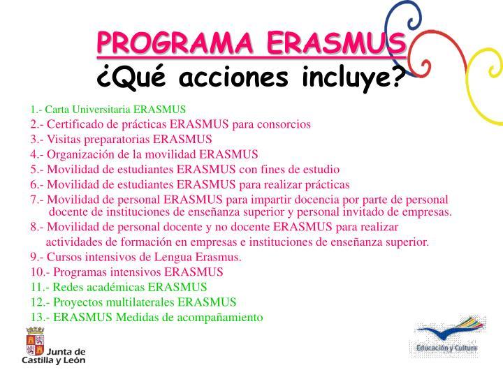 1.- Carta Universitaria ERASMUS
