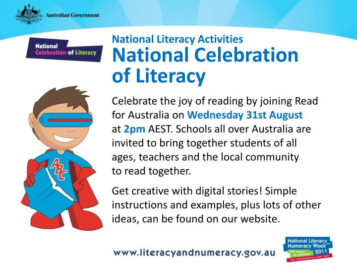 National Literacy Activities