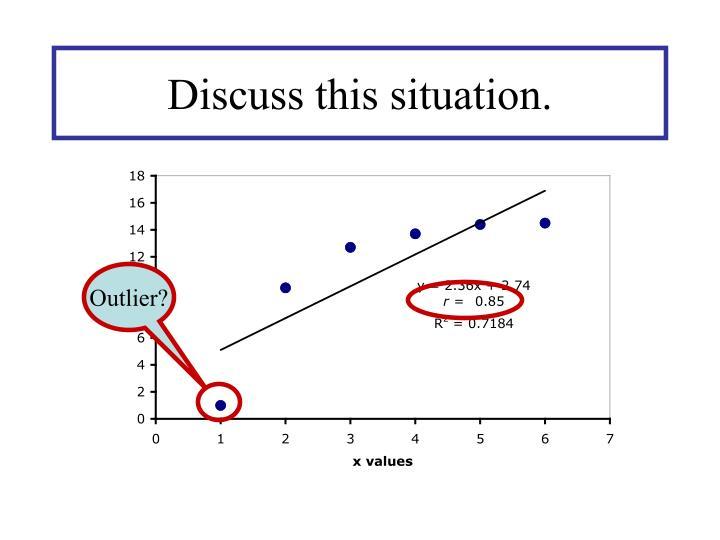Outlier?